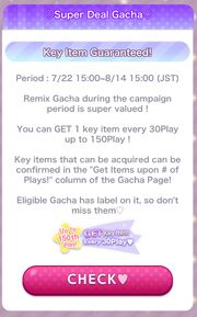 (Promotion) CocoPPa Play Summer Festival 2019 Promotion - Super Deal Gacha