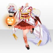 (Tops) Mononoke Cute Cat Girl Style ver.A white