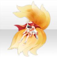 (Tops) Oinari-sama Nine-Tail Girl Style ver.A yellow