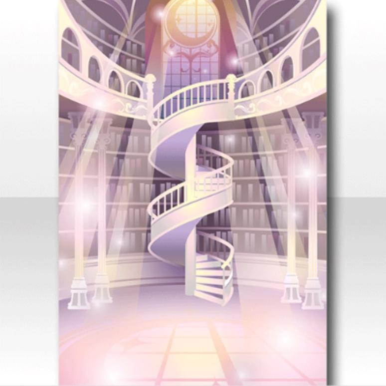 Wallpaper Profile Princess Hall In Moon Castle VerA Pink