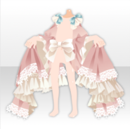 (Outerwear) Classic Rococo Dress and Elegant Curtsy ver.A pink