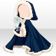 (Outerwear) Snow Land Hooded Robe ver.A blue