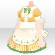 (Tops) Maid Apron One-Piece ver.A yellow