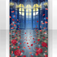 (Show Items) Falling Rose Petals in Hall Stage ver.1