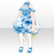 (Tops) Marriage Balloon Dress Style ver.A blue