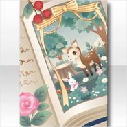 (Wallpaper Profile) Bambi in Book Wallpaper ver.A green