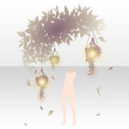 (Body Accessories) Floracion Leaves Light Lamp ver.A yellow