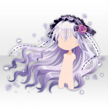 (Hairstyle) Moonlit Lady Straight Long Hair ver.A white