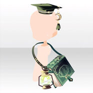 (Head Accessories) Phantom Hat and Shoulder Bag ver.A green