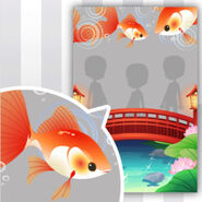 (Show Items) Kekkai-Bashi and Fluttering Goldfish ver.1