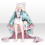 (Tops) Alice Classical Sexy Lolita Dress ver.A pale blue