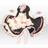 (Tops) Royal Girl Maid Dress ver.A black