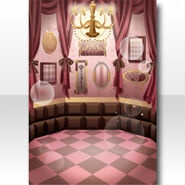 (Wallpaper Profile) Chocolat Room for Chess Wallppaer ver.A pink