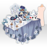 (Avatar Decor) Wonder Tea Party With You ver.A blue