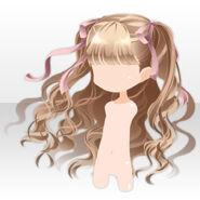 (Hairstyle) La Clarte Little Girl Wavy Hair ver.A brown