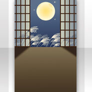 (Show Items) Moon Viewing Behind Shoji Screen ver.1