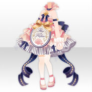(Tops) Happy Makeup Girls Perfume Dress Style ver.A pink