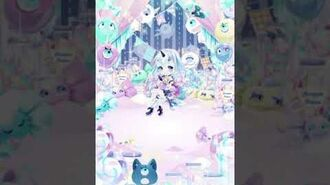 【CocoPPa Play】3 Color Fluffy Filter (Blue)