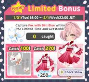 Fox Wedding Hyper Limited Time Bonus