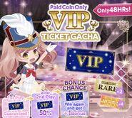 (Banner) Vip Ticket Gacha - Paid Coins