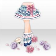 (Pant&Skirt) Secret Fleur Frilled Pumps ver.A pale blue