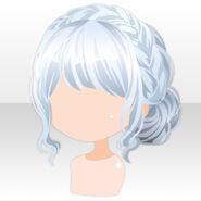 (Hairstyle) Fontana Braid Up Hair ver.A white