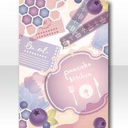 (Wallpaper Profile) Love Pancake Kitchen Wallpaper ver.A purple