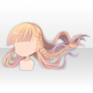 (Hairstyle) Papercut World Braided Hair ver.A yellow