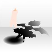 (Shoes) Fallen Feather Dark Angel Shadow ver.A black