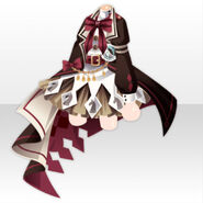 (Tops) Chocolat Knight Dress ver.A brown
