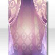 (Wallpaper Profile) Perfume Veil Wallpaper ver.A purple