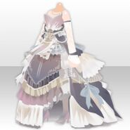(Tops) Ancient Elegant Dress Style ver.A white