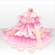 (Tops) Deep-Sea Off Shoulder Frilled Mini Dress ver.A pink