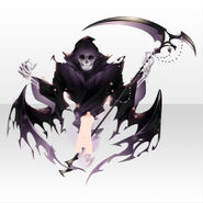 (Avatar Decor) Underworld Death Scythe Familiar Spirits ver.A purple