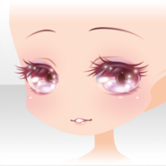(Face) Classic Rococo Shiny Smiling Face ver.A pink