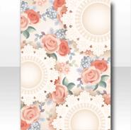 (Wallpaper Profile) Flowers & Lace Tea Party Wallpaper ver.A white