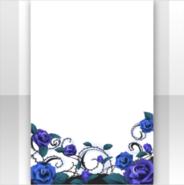 (Show Items) Cursed Thorn & Blue Rose Decor1 ver.1
