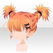 (Hairstyle) Phantom Active Braided Hair ver.A orange