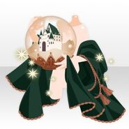 (Hand Accessories) Snow Dome in Hand ver.A green