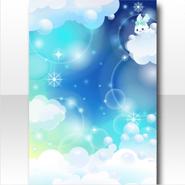 (Wallpaper Profile) Bubbly Night Fever Wallpaper ver.A blue