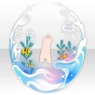 (Avatar Decor) Mystic Aqua Dome ver.A blue