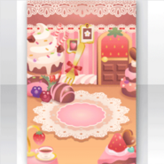 (Show Items) Strawberry Sweets Room Stage ver.1
