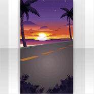 (Show Items) Sunset Coastline Stage ver.1