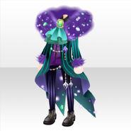 (Tops) Fur on Phantom Thief Suit Style ver.A purple