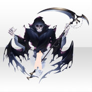 (Avatar Decor) Underworld Death Scythe Familiar Spirits ver.A blue