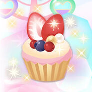 (Character) LOVE❤POWER - Strawberry Cupcake