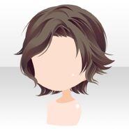 (Hairstyle) Hydrangea Short Hair ver.A brown