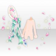 (Hand Accessories) Dolls Tea Party Tea Spoon Stick ver.A green