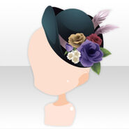 (Head Accessories) Talented Flower Hat ver.A green