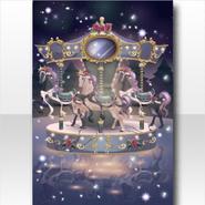 (Wallpaper Profile) Hollow Park Broken Midnight Merry-Go-Round Wallpaper ver.A black